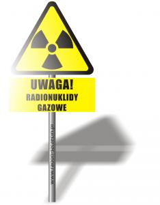 radionuklidy gazowe
